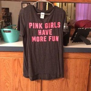 VS PINK 2015 Fashion Show tee
